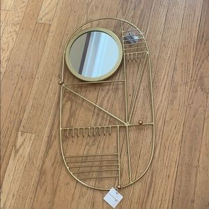 Anthropologie Hanging Jewelry Organizer
